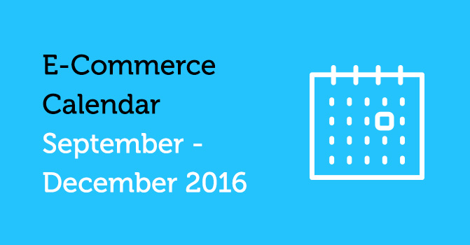 E-Commerce Calendar