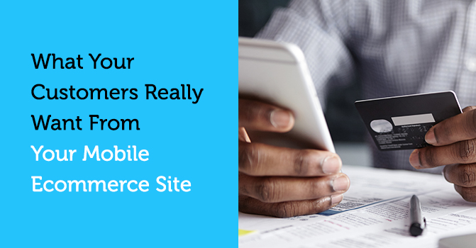 What customers want from an ecommerce site blog