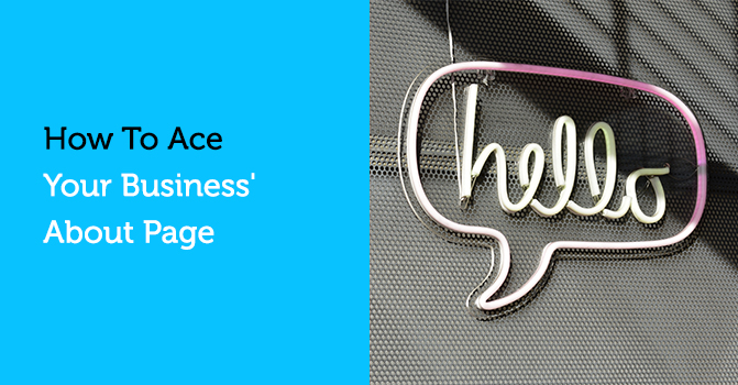 How to Ace Your Business' About Page