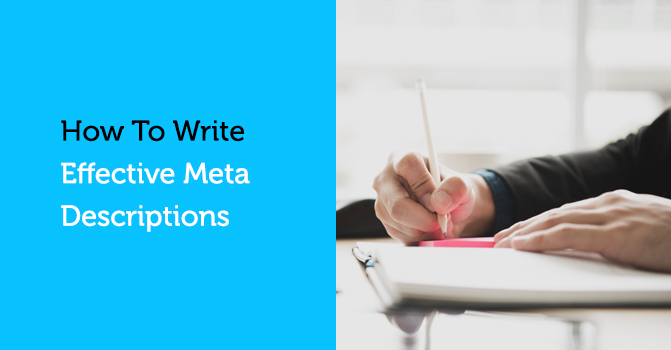 writing a meta description