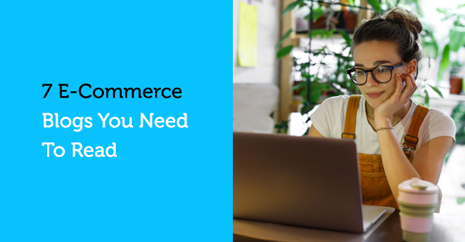 reading an ecommerce blog